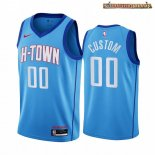 Camisetas NBA Houston Rockets Personalizada Azul Ciudad 2020-21