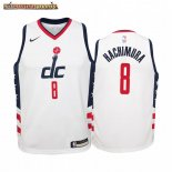 Camisetas Niños Washington Wizards Rui Hachimura Nike Blanco Ciudad 2019-20