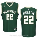Camisetas Milwaukee Bucks Khris Middleton Verde
