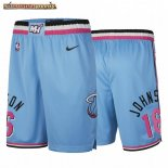 Pantalones Miami Heat James Johnson Nike Azul Ciudad