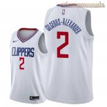 Camisetas Nike L.A.Clippers Shai Gilgeous Alexander Blanco Association 2018