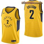 Camisetas Indiana Pacers Darren Collison Amarillo Statement 2017-2018