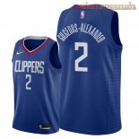 Camisetas Nike L.A.Clippers Shai Gilgeous Alexander Azul Icon 2018