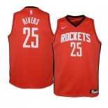 Camisetas Niños Houston Rockets Austin Rivers Rojo Icon 2019-20