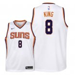 Camisetas Niños Phoenix Suns George King Blanco Association 2018