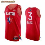 Camisetas 2020 All Star Anthony Davis Rojo