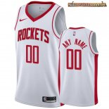 Camisetas NBA Houston Rockets Personalizada Blanco Association 2019-20