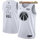 Camisetas 2018 All Star John Wall Blanco