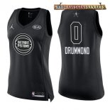 Camisetas Mujer 2018 All Star Andre Drummond Negro