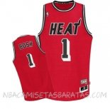 Camisetas Miami Heat Chris Bosh Retro Rojo