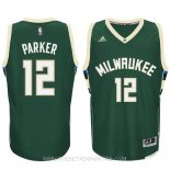 Camisetas Milwaukee Bucks Jabari Parker Verde