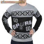 NBA Unisex Ugly Sweater San Antonio Spurs Gris