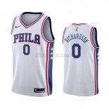 Camisetas Philadelphia Sixers Josh Richardson Blanco Association 2019-2020