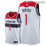 Camisetas Nike Washington Wizards Austin Rivers Blanco Association 2018