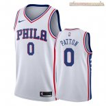 Camisetas Nike Philadelphia Sixers Justin Patton Blanco Association 2018