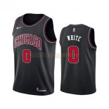 Camisetas Chicago Bulls Coby White Negro Statement 2019-2020