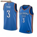 Camisetas NBA Nike Oklahoma City Thunder Chris Paul Azul Icon Edition