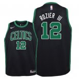 Camisetas Niños Boston Celtics Terry Rozier III Negro Statement 2018