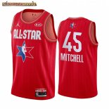 Camisetas 2020 All Star Donovan Mitchell Rojo