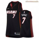 Camisetas Mujer Miami Heat Goran Dragic Negro Icon 2018