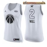 Camisetas Mujer 2018 All Star John Wall Blanco