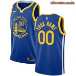 Camisetas NBA Golden State Warriors Personalizada Azul Icon 2020