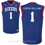 Camisetas Philadelphia Sixers Michael Carter Williams Azul
