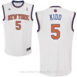 Camisetas New York Knicks Jason Kidd Blanco