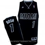 Camisetas Miami Heat Chris Bosh Negro