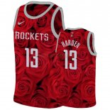 Camisetas Niños Houston Rockets James Harden Rojo