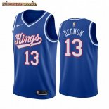 Camisetas NBA Sacramento Kings Dewayne Dedmon Azul Throwback
