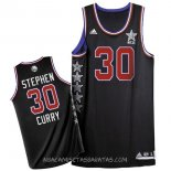 Camisetas 2015 All Star Stephen Curry Negro