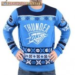 NBA Unisex Ugly Sweater Oklahoma City Thunder Azul