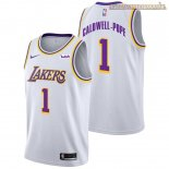 Camisetas Los Angeles Lakers Kentavious Caldwell Pope Blanco 2018-2019