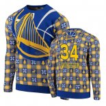 NBA Unisex Ugly Sweater Golden State Warriors Shaun Livingston Azul