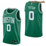 Camisetas Boston Celtics Jayson Tatum Verde Icon 2017-2018