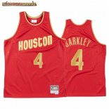 Camisetas NBA CNY Throwback Huston Rockets Charles Barkley Rojo 2020