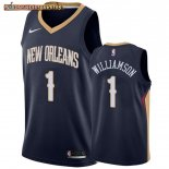 Camisetas New Orleans Pelicans Zion Williamson Marino Icon