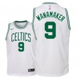 Camisetas Niños Boston Celtics Bradley Wanamaker Blanco Association 2018