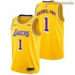 Camisetas Los Angeles Lakers Kentavious Caldwell Pope Amarillo 2018-2019