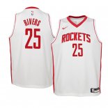 Camisetas Niños Houston Rockets Austin Rivers Blanco Association 2019-20