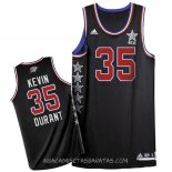 Camisetas 2015 All Star Kevin Durant Negro