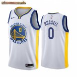 Camisetas NBA Nike Golden State Warriors D'Angelo Russell Blanco Association