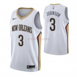 Camisetas Niños New Orleans Pelicans Stanley Johnson Blanco Association