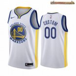 Camisetas NBA Golden State Warriors Personalizada Blanco Association 2020