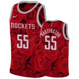 Camisetas Niños Houston Rockets Isaiah Hartenstein Rojo