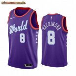 Camisetas 2020 All Star Rui Hachimura Purpura
