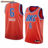 Camisetas NBA Nike Oklahoma City Thunder Hamidou Diallo Naranja Statement 2019-20