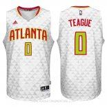 Camisetas Atlanta Hawks Jeff Teague Blanco