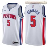 Camisetas Detroit Pistons Luke Kennard Blanco Association 2017-2018